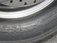 cracks in tires
